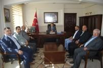 HAKAN YILDIZ - MHP İlçe Yönetiminden Malkara Kaymakamı Erkan Karahan'a Ziyaret