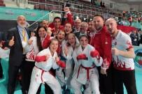 RECEP TOPALOĞLU - Milli Karatecilerden 12 Avrupa Derecesi