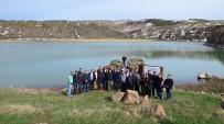 CENGIZ ŞAHIN - Nemrut Krater Gölü İlk Ziyaretçilerini Ağırladı