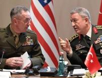 İBRAHİM KALIN - Genelkurmay Başkanı Akar, ABD'li mevkidaşı Dunford ile görüştü