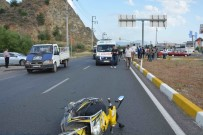 ELEKTRİKLİ BİSİKLET - Ortaca'da Otomobil Elektrikli Bisiklete Çarptı; 2 Yaralı