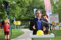 YANGIN TÜPÜ - Park İçerisinde 'İş Saglığı Ve Güvenliği' Temalı Çalışma Yapıldı