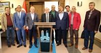 BURHAN KUZU - AK Parti İstanbul Milletvekili Burhan Kuzu Başkan Sekmen'i Ziyaret Etti