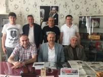 Beşiktaşlılar Derneğinden, TÜFAD'a Ziyaret