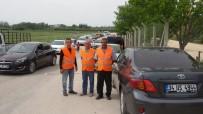 AYDINLATMA DİREĞİ - 'Cezaevi Otopark Güven Timi' İşbaşında