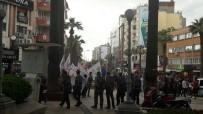 POLİS MÜDAHALE - Denizli'deki İzinsiz Eylemde Gözaltına Alınan 34 Kişi Serbest Bırakıldı
