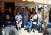 HAVA MUHALEFETİ - Engelliler Hıdırellezde Stres Attı
