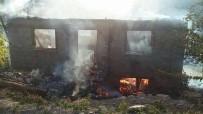 AKBAYıR - Kastamonu'da Yangında Bir Ev Kullanılamaz Hale Geldi