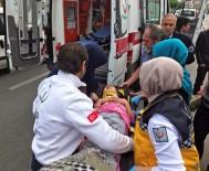 TRAFİK IŞIĞI - Minibüsün Çarptığı Küçük Kız 'Bir Şeyim Yok' Diyerek Ağladı