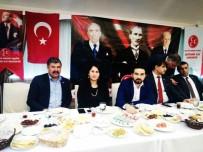 ÜLKÜCÜ - Taşdoğan MHP'li Delegelerle Biraraya Geldi