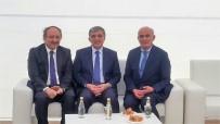 TAZİYE ZİYARETİ - Başkan Yılmaz, 11. Cumhurbaşkanı Gül'ün Acısını Paylaştı