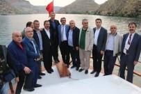 SAKLI CENNET - Belediye Başkanları Şanlıurfa Programını Geziyle Tamamladı