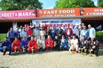 HAMZALı - Fetih Tırmanma Yarışları Nefes Kesti