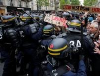 POLİS MÜDAHALE - Fransız protestocular sokağa döküldü