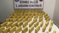KıNALı - İstanbul'da 41 Kilo Uyuşturucu Ele Geçirildi