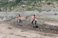 HAVA MUHALEFETİ - Mardin'de Rahvan Atları Yarışı Renkli Görüntülere Sahne Oldu
