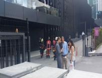 BİNA YANGINI - Maslak'ta plazada yangın! Çalışanlar tahliye edildi...