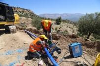 ŞEBEKE HATTI - MESKİ, Mut İlçesinde İçme Suyu Çalışmalarına Devam Ediyor