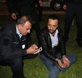 FUZULİ - Polisin 'Dur' İhtarına Uymayan Alkollü Sürücü, Polis Araçlarına Çarparak Kaçmak İstedi
