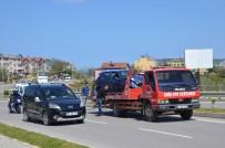 Sinop'ta Trafik Kazası