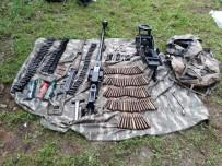 BİXİ - Teröristlere Ait Çok Sayıda Silah Ve Mühimmat Ele Geçirildi