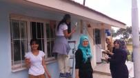 ÖRENCIK - Üniversiteli Gençler Köy Okulunu Boyadı
