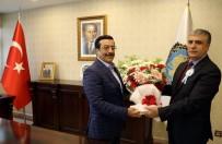 CAHİT SITKI TARANCI - Vakıf Temsilcilerinden Başkan Atilla'ya Ziyaret