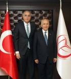 MUSTAFA TOPRAK - Voleybol Federasyonu Başkanı Üstündağ Malatya'da İncelemelerde Bulundu