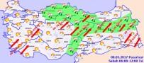 SAĞANAK YAĞMUR - Yurtta hava durumu