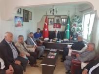 İL BAŞKANLARI - AK Parti'den MHP'ye Teşekkür Ziyareti