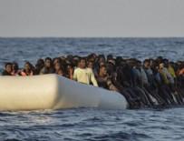 SICILYA - Akdeniz'de tekne battı! 250 göçmen kayıp