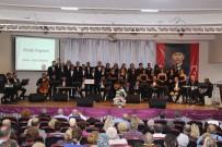 Balıkesir Türk Müziği Korosunun Konseri İlgi İle Karşılandı