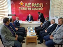 VAHDETTIN - Başkan Öz'den İlçelere Teşekkür Ziyareti