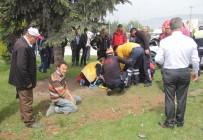 ABANT İZZET BAYSAL ÜNIVERSITESI - Bolu'da Trafik Kazası Açıklaması 4 Yaralı