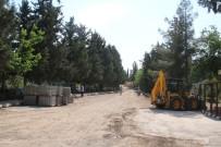 CEYLANPINAR - Büyükşehir Ceylanpınar İlçe Mezarlığını Onarıyor