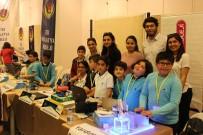 KEMAL ŞAHIN - Çınar Koleji Öğrencisi Kemal Şahin Robot Yarışmasında Birinci Oldu