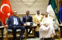 KUVEYT EMIRI - Cumhurbaşkanı Erdoğan Kuveyt Emiri ile görüştü