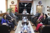 Defterdar Sercan'dan Ticaret Borsası'na Ziyaret