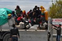 Durdurulan Tırın Dorsesinden 44 Suriyeli Tarım İşçisi Çıktı