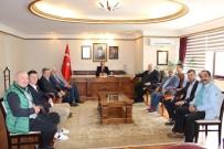 FERIDUN TANKUT - Kardemir Karabükspor'dan Vali Aktaş'a Ziyaret
