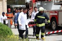 İŞ SAĞLIĞI VE GÜVENLİĞİ KANUNU - Konya Büyükşehir'den Yangın Tatbikatı