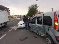 Niğde'de 2 Ayrı Kaza Açıklaması 5 Yaralı