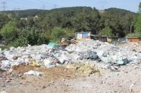KAMYONCULAR - Kağıthane'de Hafriyat Terörü Devam Ediyor