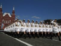 KıZıL MEYDAN - Rusya'da 'Zafer Günü' kutlamaları başladı