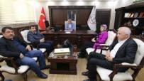EĞİTİM KALİTESİ - SİDER Başkanı Yılmaz'dan Aslan'a Ziyaret