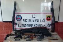KAÇAK SİLAH - Silah Kaçakçılarına Jandarmadan Şafak Baskını