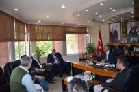 HALIL ELDEMIR - TCDD 1. Bölge Müdürü Aslan, Bayırköy'de İncelemede Bulundu