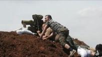AZEZ - Türkiye Korkusuyla Hendek Kazan YPG Böyle Vuruldu