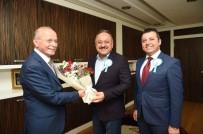 VAKIFLAR HAFTASI - Vakıflar Bölge Müdürü Yücebıyık'tan, Belediye Başkanı Babaş'a Teşekkür