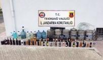 SAHTE RAKı - Bin 650 Litre Sahte İçki Yakalandı